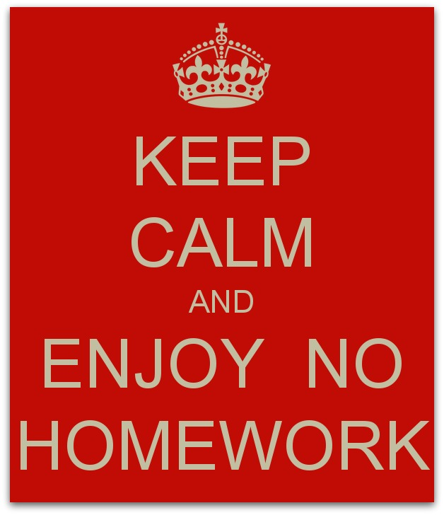 Image result for no homework